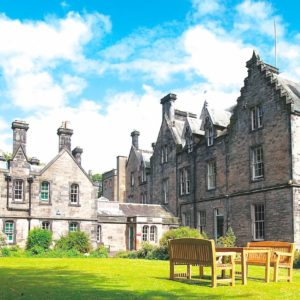 Fettes College - Moredun House Front View From The Lawn