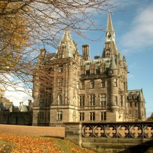 Fettes College- Bryce Building View From The Beaches Landscape