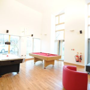Fettes College - Craigleith House - Lounge 1 Games Area