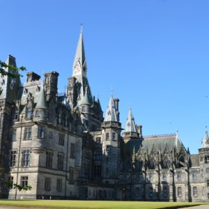 Fettes College - Queens Lawn & Bryce Building Full Image